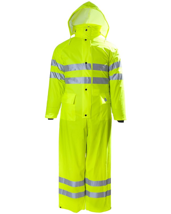 2H Hi Vis Hol Coverall