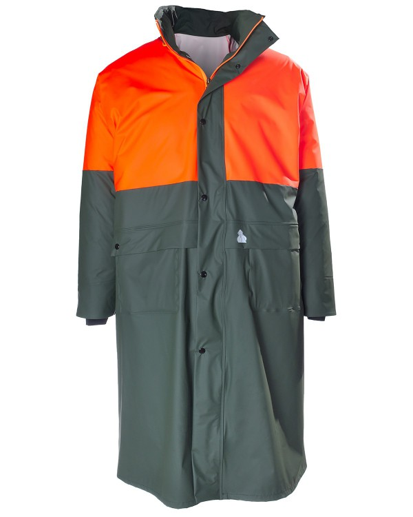 Hunting Bicolor Raincoat