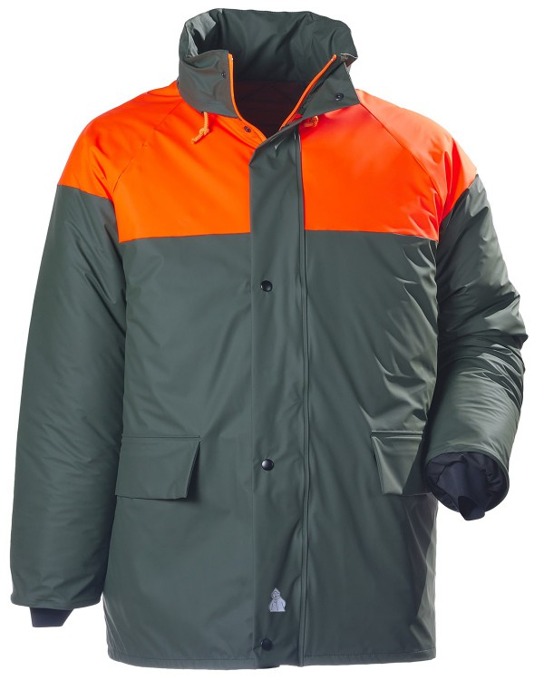 Hunting Bicolor Quilted Jacket